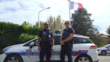 Les policiers du Sud